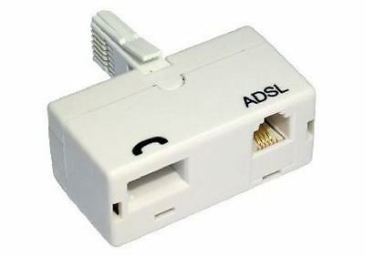 Cables Direct BT-800 - ADSL MICROFILTER BT M  - BT F & RJ11 F WHITE ADAPTOR ...