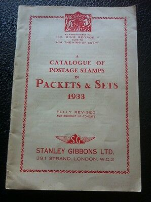 Stanley Gibbons 1933 Stamp Catalogue.