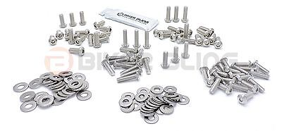 BMW F650CS 2003 stainless steel motorcycle screen panel cover fairing bolts