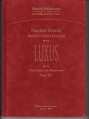 """Auction Catalogue – The """"Luxus"""" Italian States++++"""