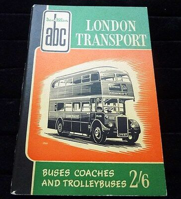 Ian Allan ABC London Transport Buses & Coaches September 1956 unmarked