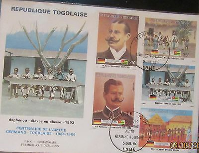 1984 Germano Togolaise High Value Rare Cover (Lome Post Mark)