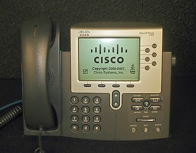 CISCO 7962 IP PHONE TELEPHONE Black CP-7962G V05