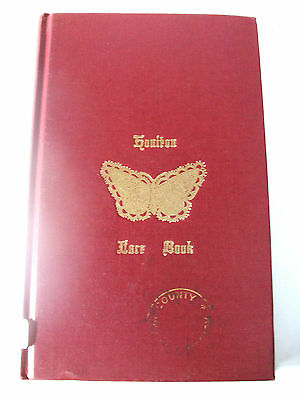 Old 1972 Library Book Of The Honiton Lace Book