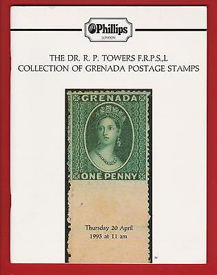 """Auction Catalogue The """"R. P. Towers"""" Grenada Collection"""