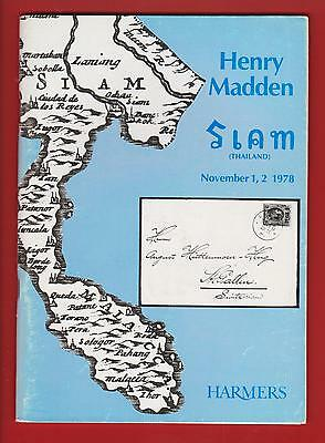 Auction Catalogue – The Henry Madden Siam+++++