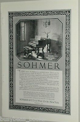 1925 Sohmer Piano advertisement, Spanish Renaissance Grand Piano