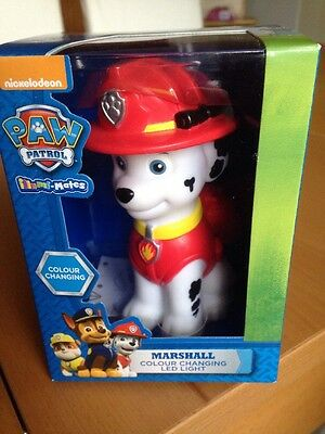 Paw Patrol Colour Changing Light Marshall