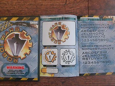 Ultra Rare collectable BBC Robot Wars STYLE GUIDE PRODUCTS  CD-ROM SET