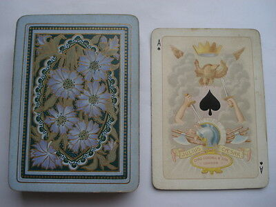 C1880S Vintage Chas Goodall&son London Kings&queens Of All Nations Playing Cards
