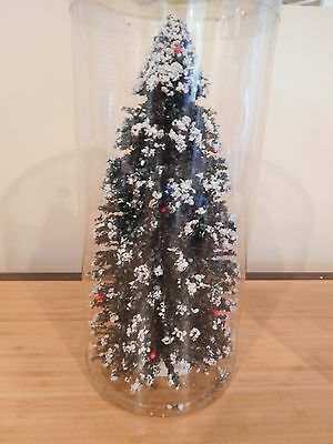"""Lemax Accessory - 11 3/4"""" Tall Evergreen Tree - Great for Dept 56 Displays"""