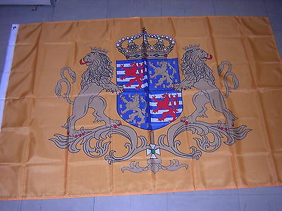 Flag Reproduced Royal Standard of the Grand Duke of Luxembourg Ensign, 3ftX5ft