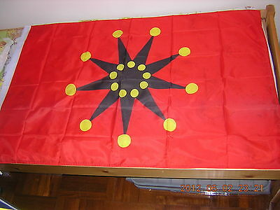 Republic of China ROC Taiwan Chinese 1911 Revolution 18-star War Ensign Flag