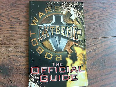 BBC  Robot Wars  EXTREME   THE OFFICIALGUIDE book / publication   VERY RARE