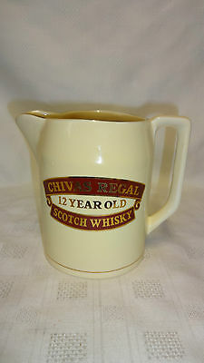 Vintage Collectable Chivas Regal 12 Year Scotch Whisky Water Whisky Jug (ref 1)
