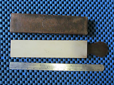 A Small Coticule Straight Razor Paddle Hone (O)