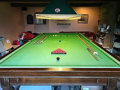Riley Full Size Snooker Table 12 Foot Plus Loads Of Accessories