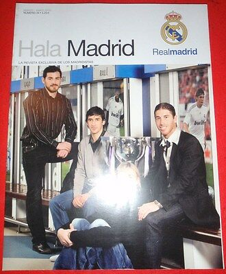 Hala Madrid #34 Revista Oficial Real Madrid