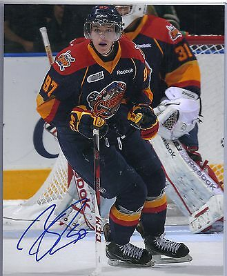 Connor McDavid Erie Otters Signed Autographed 8x10
