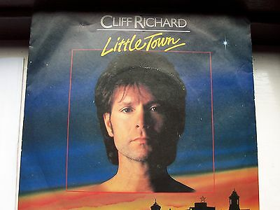 Cliff Richard, Little Town / Love And A Helping Hand. Rare Picture Sleeve Issue