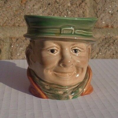 VINTAGE BESWICK SUGAR POT No. 673 TONY WELLER PICKWICK PAPERS CHARLES DICKENS