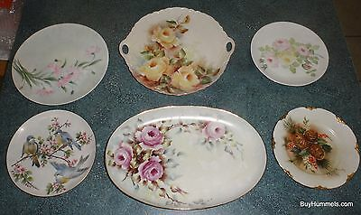 Lot of 6 HUTSCHENREUTHER Selb Bavaria Germany Collectible Plates & Platters RARE