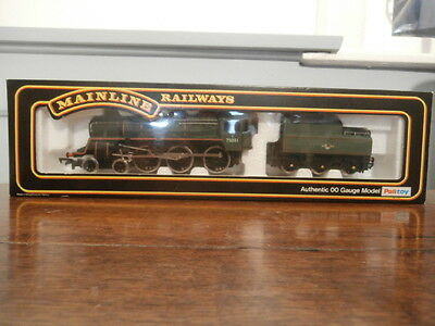 Boxed Mainline OO gauge 4-6-0 Standard Class 4 Loco P Livery Green