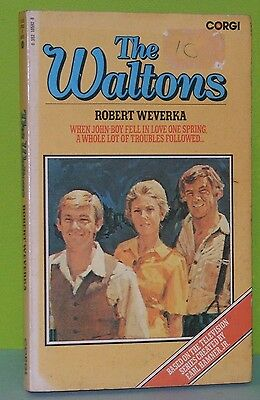 THE WALTONS / Robert Weverka / 1977 Corgi TV TIE-IN / VG