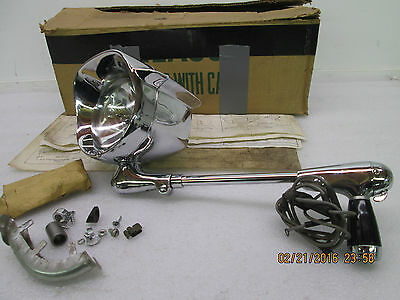 1960-1961-1962-1963-1964 Ford Nos Left Hand Spotlight And Mirror- Ford