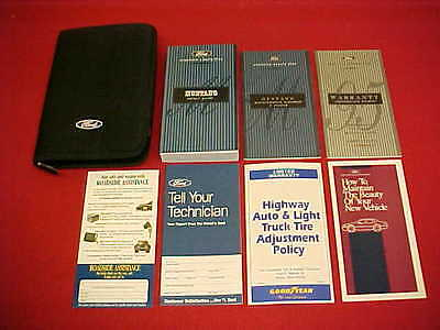 1995 ford mustang gt original owners manual service guide case 8 rh picclick com 1995 ford mustang owners manual pdf 1995 ford mustang v6 owners manual