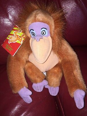 Disney King Louie Beanie Toy - From The Jungle Book