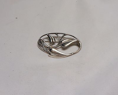 GOOD OLA GORIE STERLING SILVER CECILY BROOCH~5.1 gr