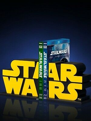 Gentle Giant Star Wars Logo Bookends Set of 2 New