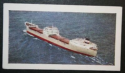 MS Trinculo     Bowring Steamship Co   Ore Carrier     Illustrated Colour Card