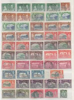 Trinidad And Tobago King George V1 Collection