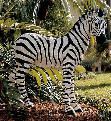 Zebra Sculpture Statue Life-size for Home or Garden