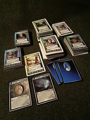 458 STAR TREK Trading or GAME CARDS The NEXT GENERATION borg Deep Space Nine