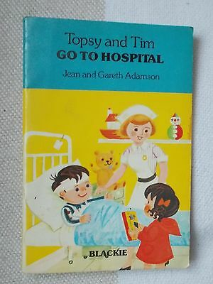 Childrens Book - TOPSY and TIM - Go to Hospital - 1982 - Blackie - p/b