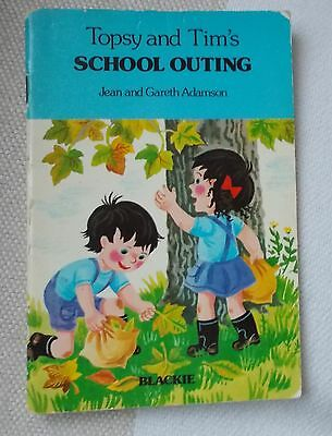 Childrens Book - TOPSY and TIM'S - School Outing - 1978 - Blackie - p/b