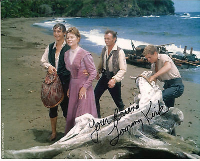 TOMMY KIRK Original Hand Signed Autograph 8x10 Photo Swiss Family Robinson
