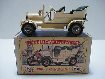 Matchbox Models Of Yesteryear 1904 Spyker Tourer Y16-A With Box England 1961