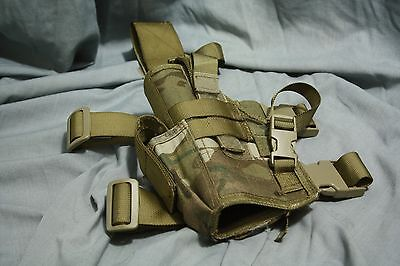 British MTP Tactical NATO Style Drop Leg Holster /          LEFT  HAND
