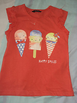 girls vest top. Age 3/4yrs 2/3 yrs 9/12mths. (Have all)Brand new with tags.