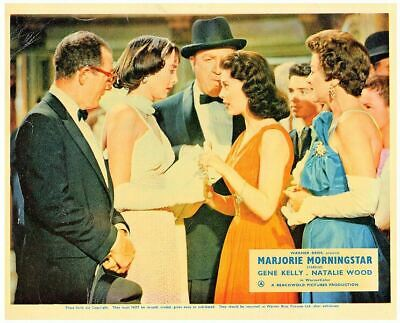 Marjorie Morningstar Original British Lobby Card Natalie Wood Good Carolyn Jones