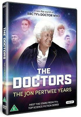 THE DOCTORS (1970-1974) - The JON PERTWEE Years - Doctor Who 51-74 NEW 2x DVD