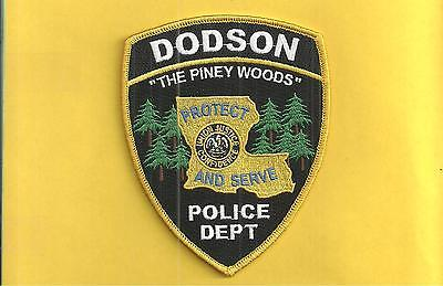Louisiana- Dodson Police- 360 People- 1 Full Time Officer-Hard To Get