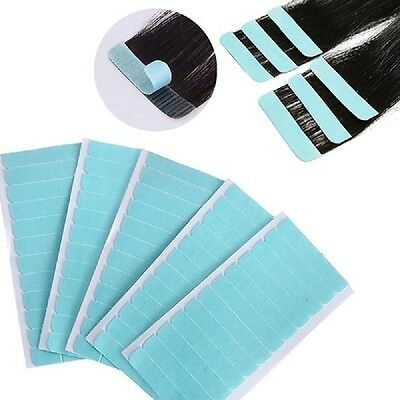 60 Tabs Double Sided Tape Weft Tape-in Hair Extension Replacement Tools
