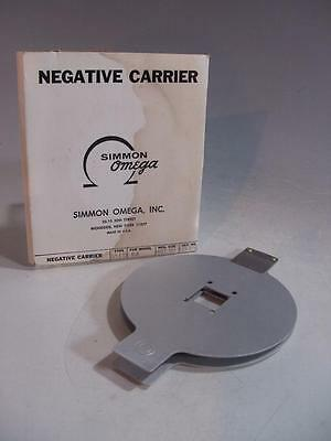 Omega 126 Glassless Negative Carrier Cat No 423-176 For Model B-8 - In Box