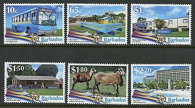 BARBADOS 2016 50th ANNIVERSARY OF INDEPENDENCE  SET MINT NH