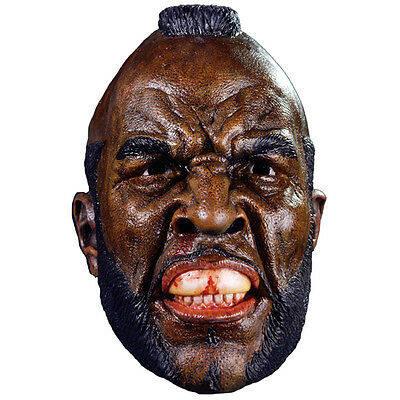 Rocky Movie Clubber Lang Mr T Boxer Adult Full Head Latex Halloween Mask